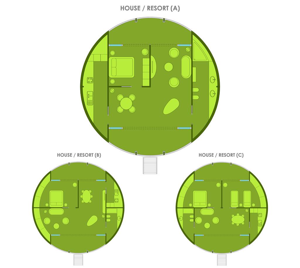 Configuration House